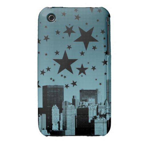 City Skyline Night Case-Mate iPhone 3 Case