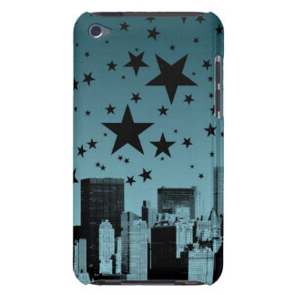 City Skyline Night iPod Case-Mate Case
