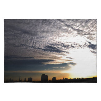 City Skyline Placemat