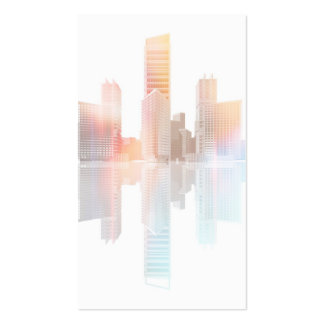 City skyscrapers and office buildings pack of standard business cards