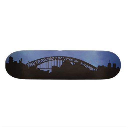 City Sleeps Skate Board Deck