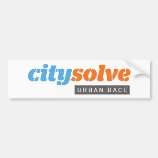 City Solve Logo Bumper Stickers