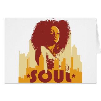 City Soul Greeting Card