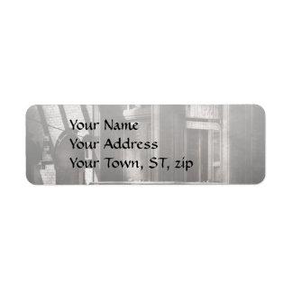 City - South Street Seaport - Bingo 220 Return Address Label