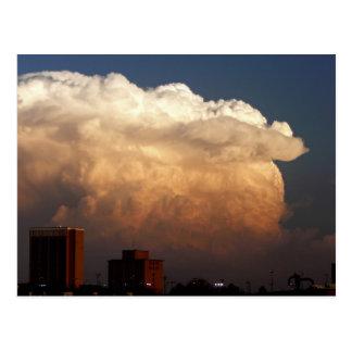 City Storm Postcard