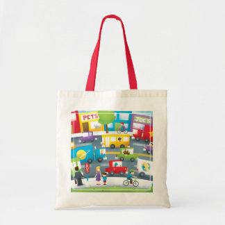 City Street Budget Tote Bag