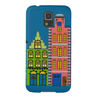 City Street Folk on on Samsung Galaxy S5 Case