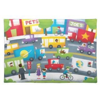 City Street Placemat