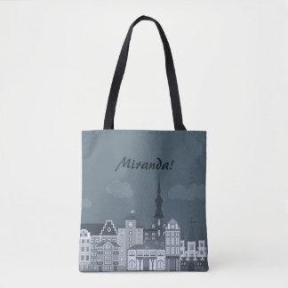 City street  Tote Bag
