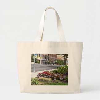 city streets tote bags