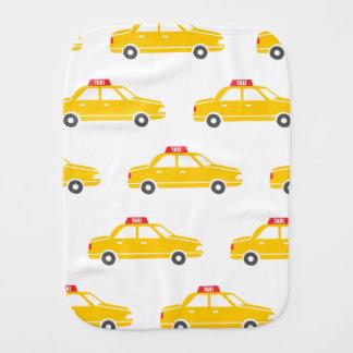 City Taxi Burp Cloth