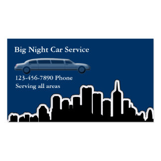 City Taxi Business Cards