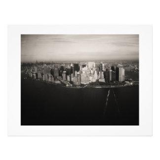 City that never sleeps 21.5 cm x 28 cm flyer