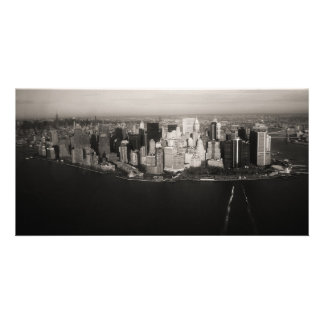 City that never sleeps personalized photo card