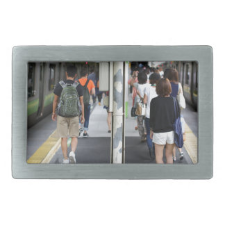 City Tokyo Street View Belt Buckles