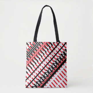 City Train Hop Tote Bag