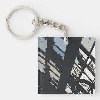 City Urban Window Keychain