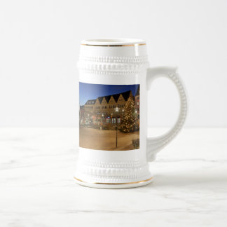 City victories market place to the blue hour beer stein