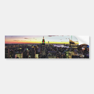 City View Night Bumper Sticker
