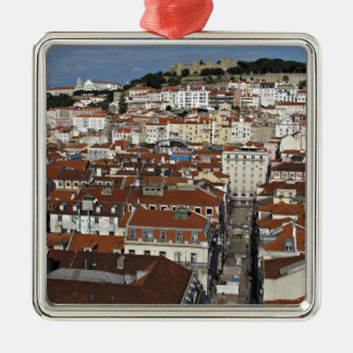 City view of Lisbon Christmas Ornament