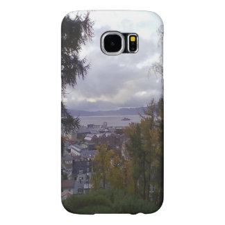 City view Trondheim Samsung Galaxy S6 Cases