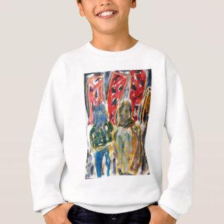 City Vigilante Art Oil Pastel and Watercolour Sweatshirt