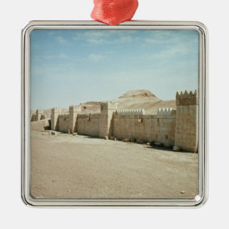 City walls christmas ornament