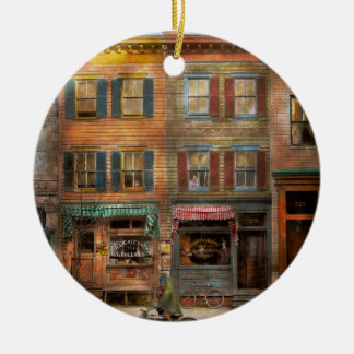 City -  Washington DC  - Ghosts of the past 1925 Christmas Ornament