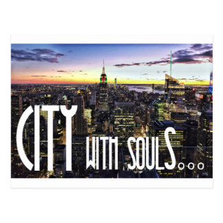 CITY with soulS - wowpeer Postcard