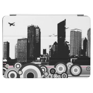 City with stripe iPad air cover