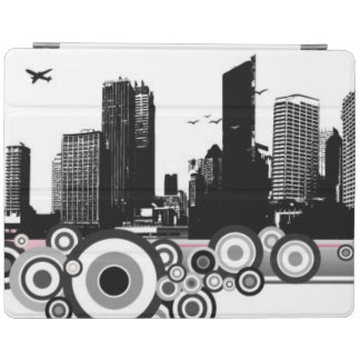 City with stripe iPad cover