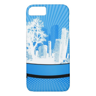 City with tree iPhone 8/7 case
