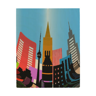 CITY WOOD CANVASES