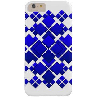 Citycape Blue Square Diamond Barely There iPhone 6 Plus Case