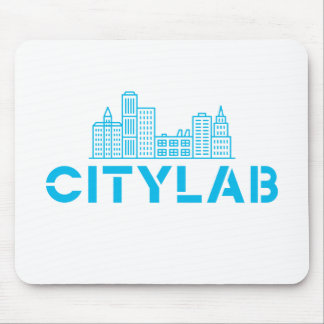 CityLab mousepad (blue skyline design)
