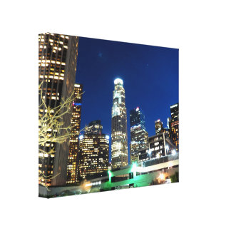 Cityscape 13 gallery wrap canvas