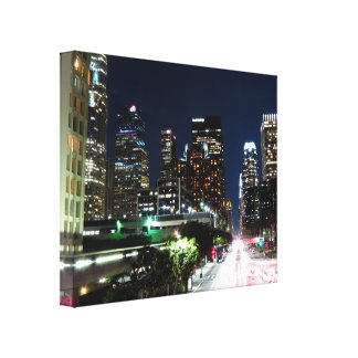 Cityscape 14 stretched canvas prints