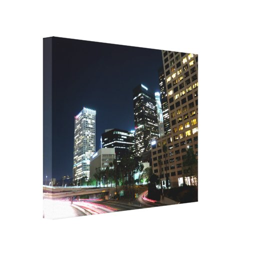 Cityscape 17 stretched canvas prints