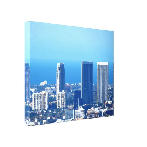 Cityscape 2 gallery wrap canvas