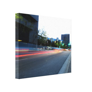 Cityscape 5 gallery wrapped canvas