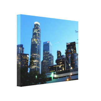 Cityscape 7 gallery wrap canvas