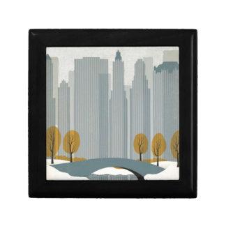 Cityscape art gift box