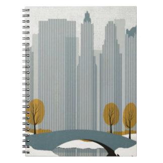 Cityscape art notebooks