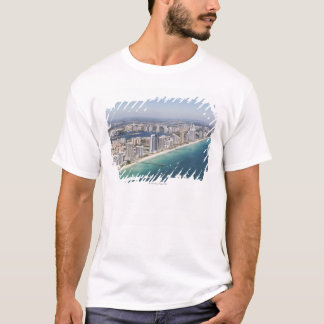 Cityscape as seen from air, Miami, Florida T-Shirt