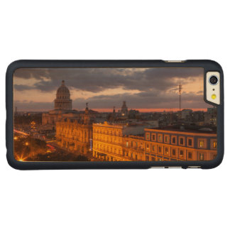 Cityscape at sunset, Havana, Cuba Carved Maple iPhone 6 Plus Case