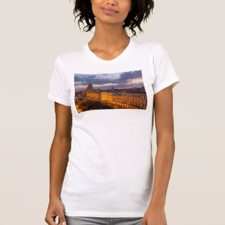 Cityscape at sunset, Havana, Cuba T-Shirt
