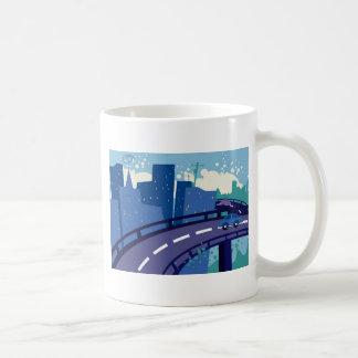 Cityscape Basic White Mug