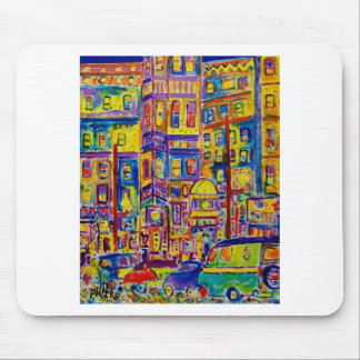 Cityscape Bronx by Piliero Mouse Pad