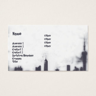 Cityscape - Business Business Card