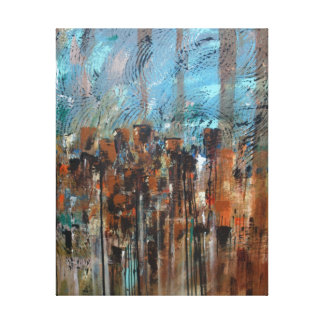 Cityscape Gallery Wrap Canvas